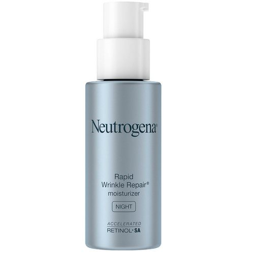 Neutrogena, Rapid Wrinkle Repair, Moisturizer, Night, 1 fl oz (29 ml) Review