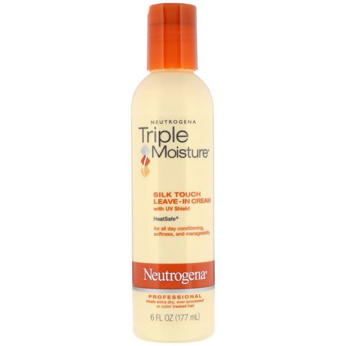 Neutrogena, Triple Moisture, Silk Touch Leave-In Cream, 6 fl oz (177 ml) Review