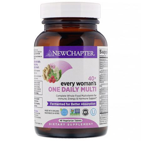 New Chapter, Women's Multivitamins