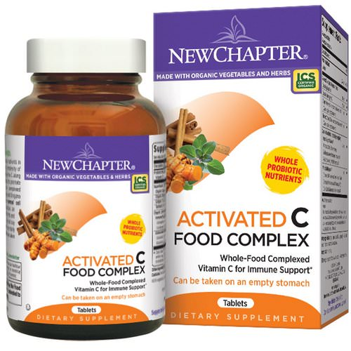 New Chapter, Activated C Food Complex, 180 Vegetarian Tablets Review