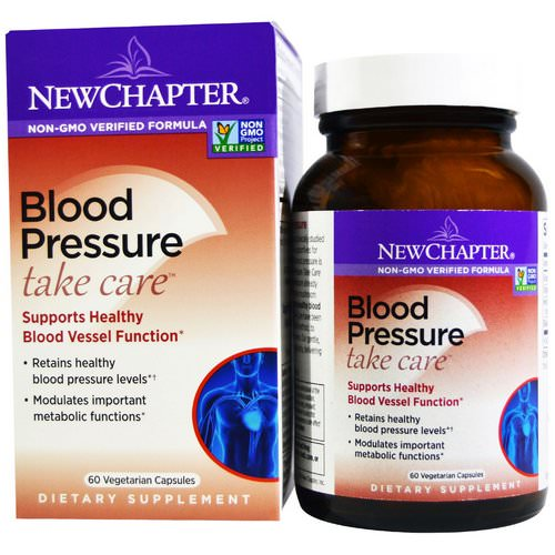 New Chapter, Blood Pressure Take Care, 60 Vegetarian Capsules Review