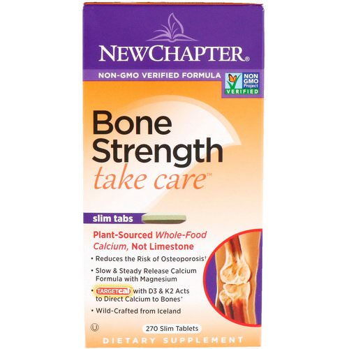 New Chapter, Bone Strength Take Care, 270 Slim Tablets Review