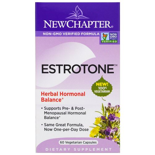 New Chapter, Estrotone, 60 Vegetarian Capsules Review