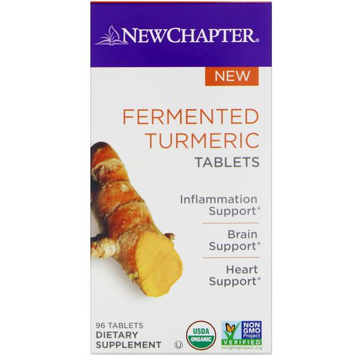 New Chapter, Fermented Turmeric, 96 Tablets Review