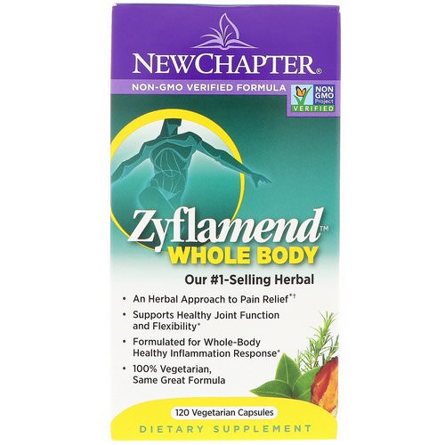 New Chapter, Zyflamend Whole Body, 120 Vegetarian Capsules Review