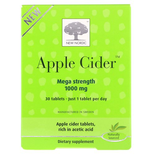 New Nordic, Apple Cider, 1000 mg, 30 Tablets Review