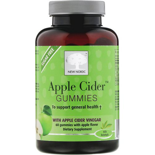 New Nordic, Apple Cider Gummies, Apple Flavor, 60 Gummies Review