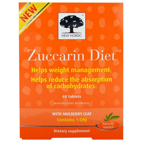 New Nordic, Zuccarin Diet, 60 Tablets Review