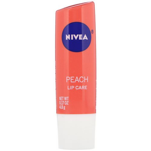 Nivea, Lip Care, Peach, 0.17 oz (4.8 g) Review