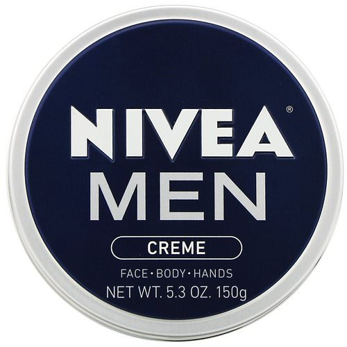 Nivea, Men, Creme, 5.3 oz (150 g) Review