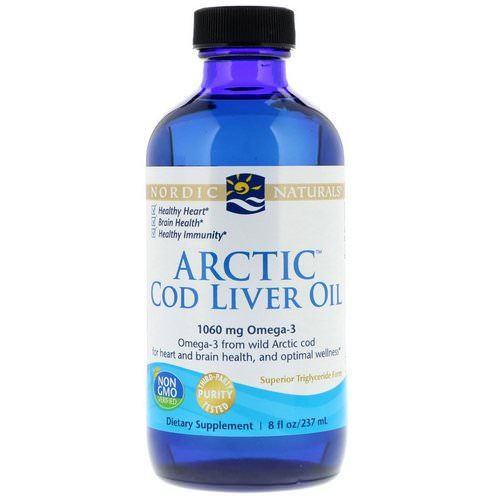 Nordic Naturals, Arctic Cod Liver Oil, 8 fl oz (237 ml) Review