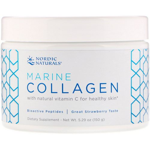 Nordic Naturals, Marine Collagen, Strawberry Flavor, 5.29 oz (150 g) Review
