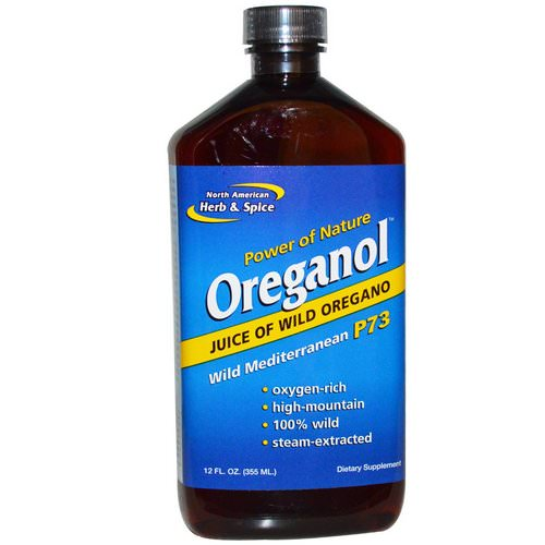 North American Herb & Spice, Oreganol, Wild Mediterranean P73, 12 fl oz (355 ml) Review