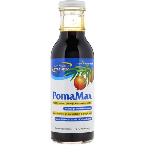 North American Herb & Spice, PomaMax, Mediterranean Pomegranate Concentrate, 12 fl oz (355 ml) Review