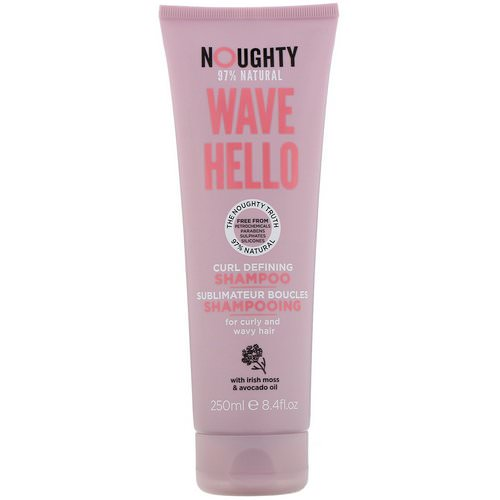 Noughty, Wave Hello, Curl Defining Shampoo, 8.4 fl oz (250 ml) Review
