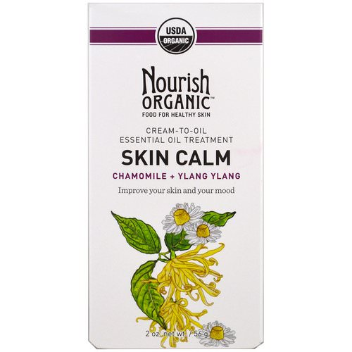 Nourish Organic, Skin Calm, Chamomile + Ylang Ylang, 2 oz (56 g) Review