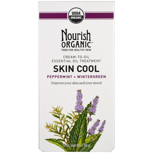 Nourish Organic, Skin Cool, Peppermint + Wintergreen, 2 oz (56 g) Review