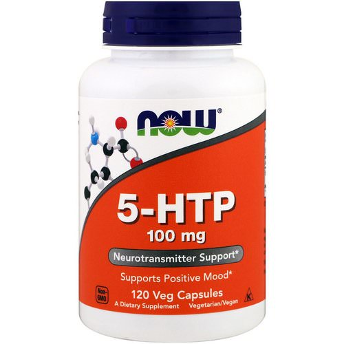 Now Foods, 5-HTP, 100 mg, 120 Veg Capsules Review