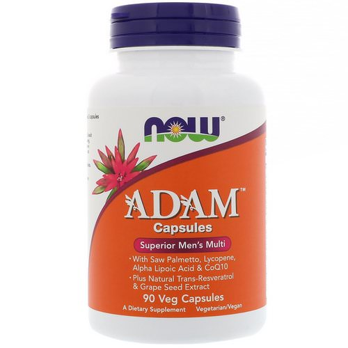Now Foods, ADAM, Superior Men's Multi, 90 Veg Capsules Review