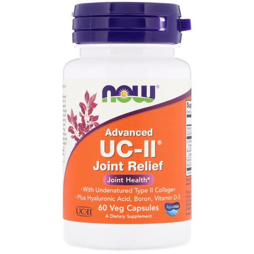 Now Foods, Advanced UC-II Joint Relief, 60 Veg Capsules Review