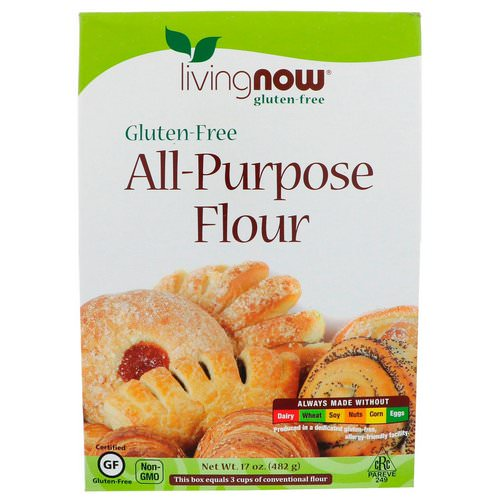 Now Foods, All-Purpose Flour, Gluten-Free, 17 oz (482 g) Review