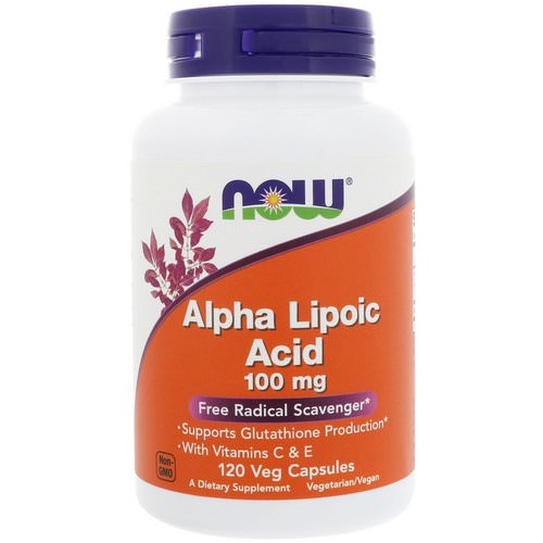 Now Foods, Alpha Lipoic Acid, 100 mg, 120 Veg Capsules Review