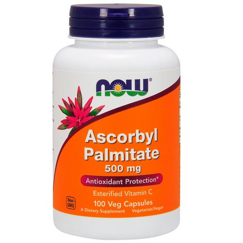 Now Foods, Ascorbyl Palmitate, 500 mg, 100 Veg Capsules Review