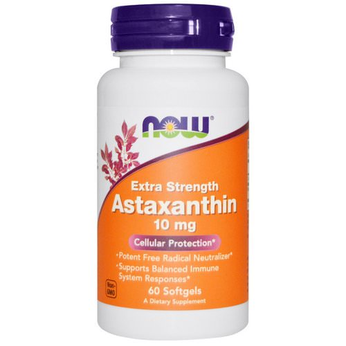 Now Foods, Astaxanthin, 10 mg, 60 Softgels Review