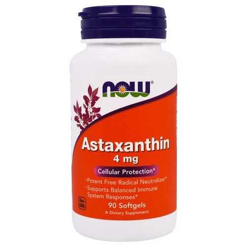 Now Foods, Astaxanthin, 4 mg, 90 Softgels Review