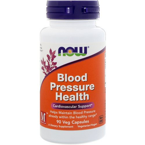 Now Foods, Blood Pressure Health, 90 Veg Capsules Review