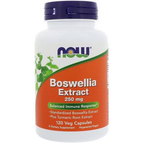 Now Foods, Boswellia Extract, 250 mg, 120 Veg Capsules Review