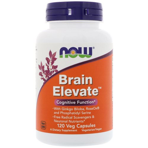 Now Foods, Brain Elevate, 120 Veg Capsules Review