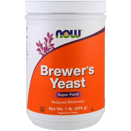 Now Foods, Brewer's Yeast, Super Food, 1 lb (454 g) Review