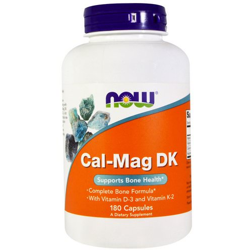 Now Foods, Cal-Mag DK, 180 Capsules Review