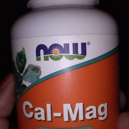 Supplements Minerals Calcium Magnesium Now Foods