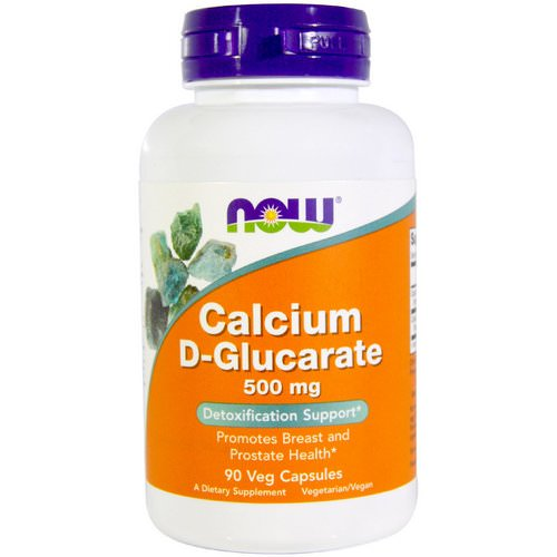 Now Foods, Calcium D-Glucarate, 500 mg, 90 Veggie Caps Review