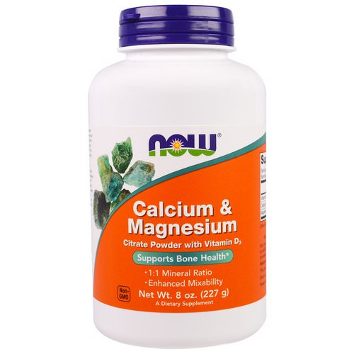 Now Foods, Calcium & Magnesium, 8 oz (227 g) Review