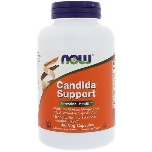 Now Foods, Candida Support, 180 Veg Capsules Review