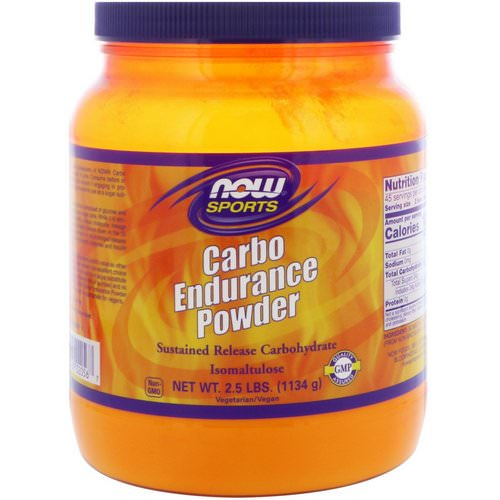 Now Foods, Carbo Endurance Powder, 2.5 lbs (1134 g) Review