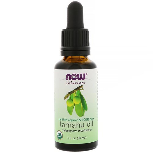 Now Foods, Certified Organic & 100% Pure, Tamanu Oil, 1 fl oz (30 ml) Review
