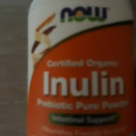 Supplements Digestion Fiber Prebiotic Fiber Inulin Now Foods