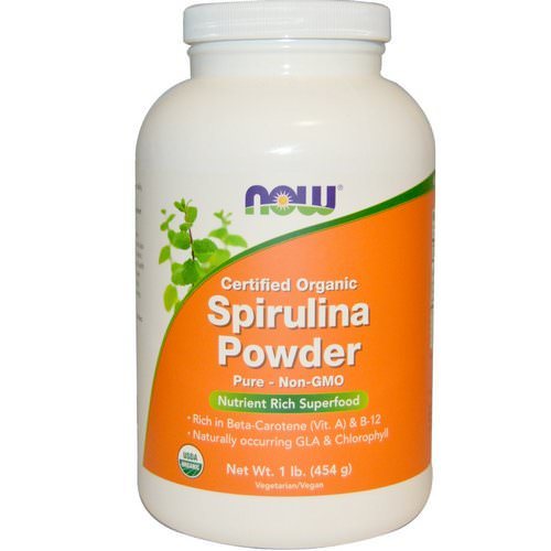 Now Foods, Certified Organic Spirulina Powder, 1 lb (454 g) Review