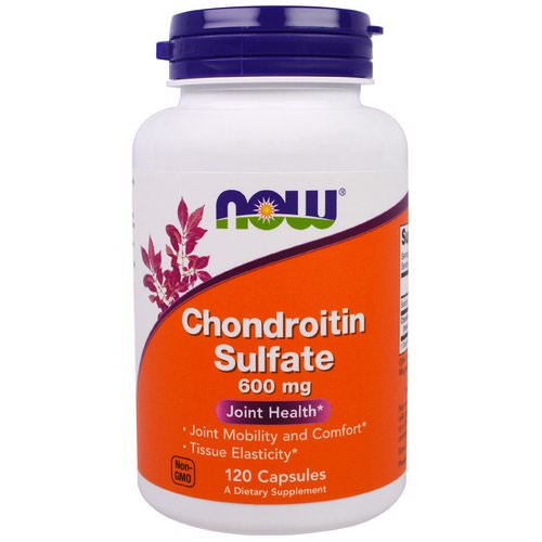 Now Foods, Chondroitin Sulfate, 600 mg, 120 Capsules Review
