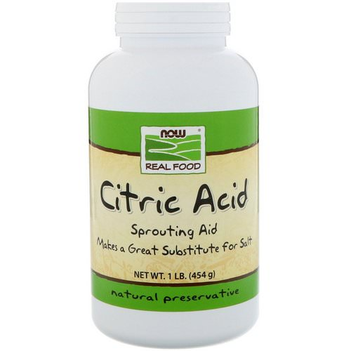 Now Foods, Citric Acid, 1 lb (454 g) Review