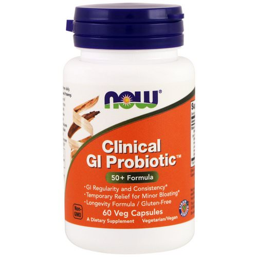 Now Foods, Clinical GI Probiotic, 60 Veggie Caps Review