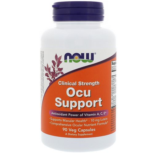 Now Foods, Clinical Strength Ocu Support, 90 Veg Capsules Review