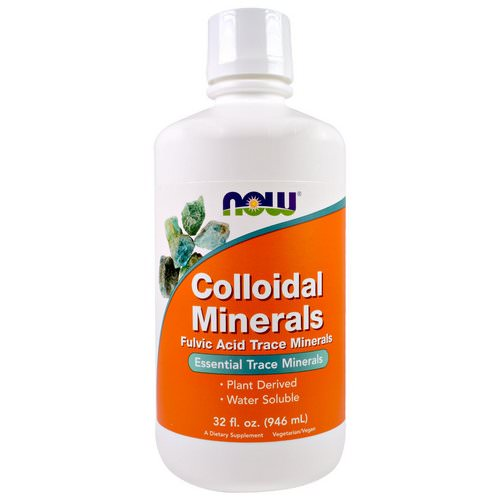 Now Foods, Colloidal Minerals, 32 fl oz (946 ml) Review