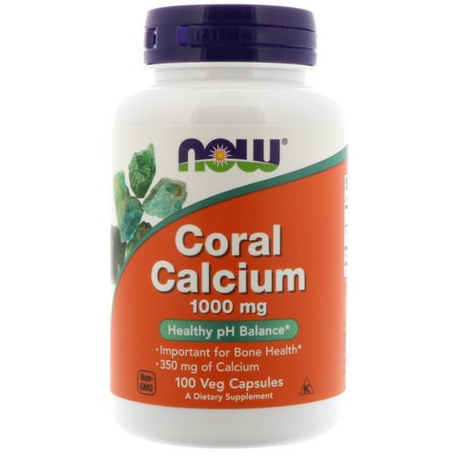 Now Foods, Coral Calcium, 1,000 mg, 100 Veg Capsules Review