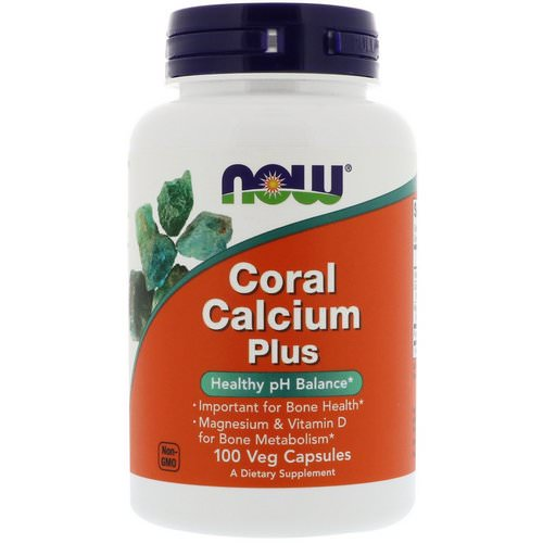 Now Foods, Coral Calcium Plus, 100 Veg Capsules Review