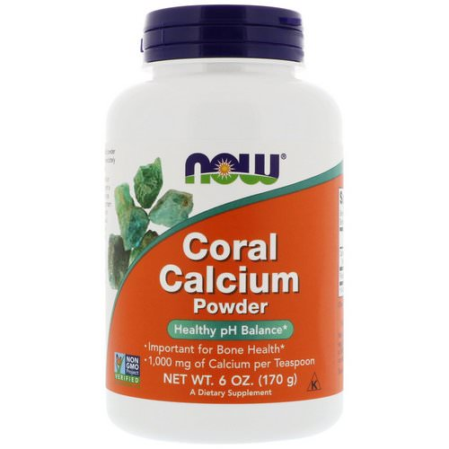 Now Foods, Coral Calcium Powder, 6 oz (170 g) Review